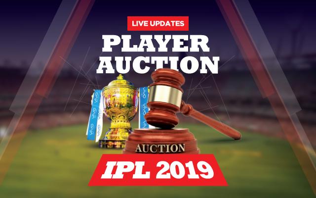 IPL-2019-Auction-Live-updates