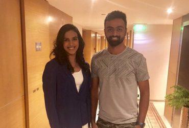 Jaydev Unadkat & PV Sindhu