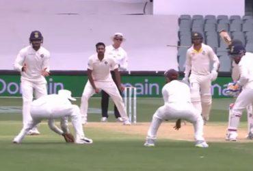 KL Rahul catch