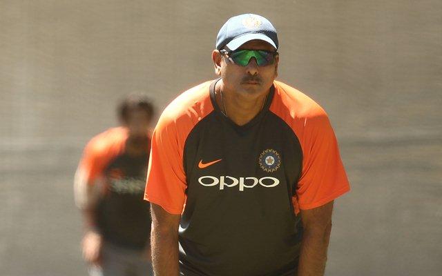 Ravi Shastri, Head Coach of India