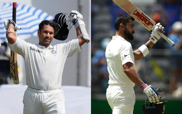 Sachin Tendulkar & Virat Kohli