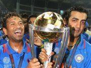 Sachin Tendulkar and Gautam Gambhir