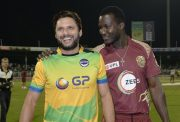 Shahid Afridi and Darren Sammy