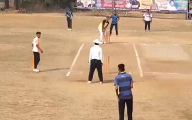 6 runs needed off 1 ball