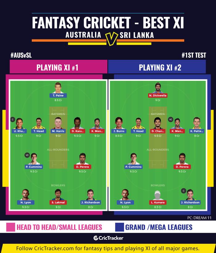 AUSvSL-first-Test-fantasy-Tips-Australia-vs-Sri-Lanka