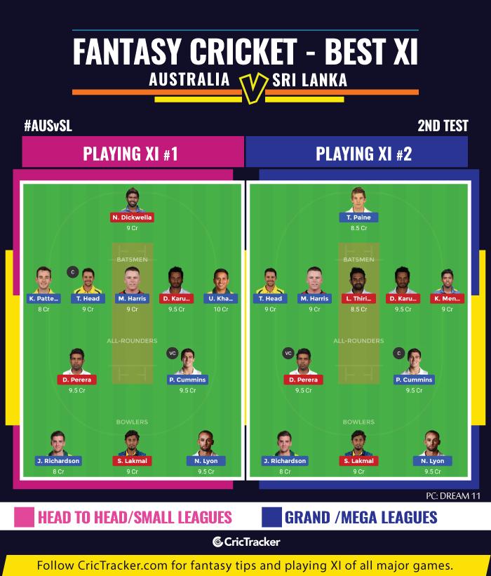 AUSvSL-second-Test-fantasy-Tips-Australia-vs-Sri-Lanka