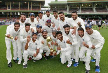 Indian team, India defeat Australia