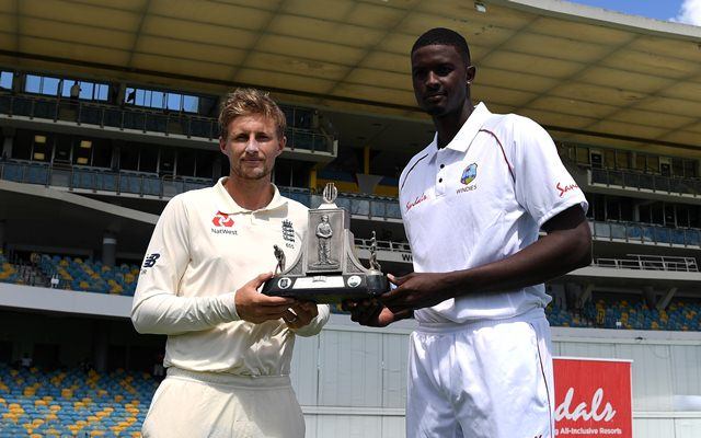 Jason Holder and Joe Root