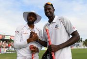 Jason Holder and Roston Chase