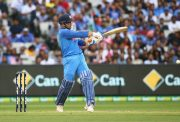 MS Dhoni shot