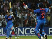 MS Dhoni world cup winning six