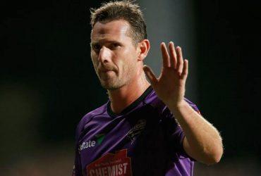 Shaun Tait of the Hobart Hurricanes
