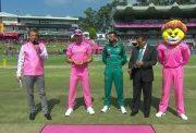 South Africa vs Pakistan toss