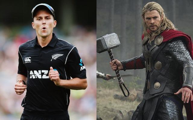 Trent Boult & Thor