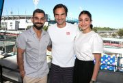 Virat Kohli, Roger Federer & Anushka Sharma