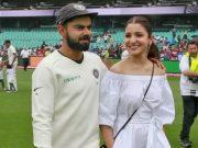 Indian Cricket Captain Virat Kohli and his wife Anushka Sharma