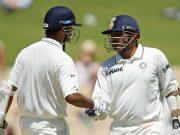 Virender Sehwag and Rahul Dravid