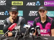 Amy Satterthwaite and Kane Williamson