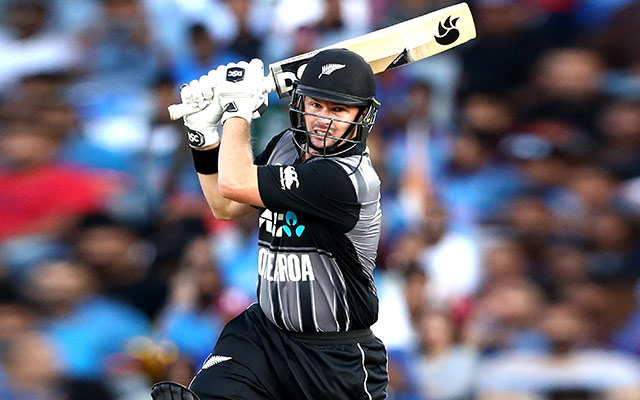 Colin Munro of New Zealand