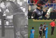 Daryl Mitchell's wicket