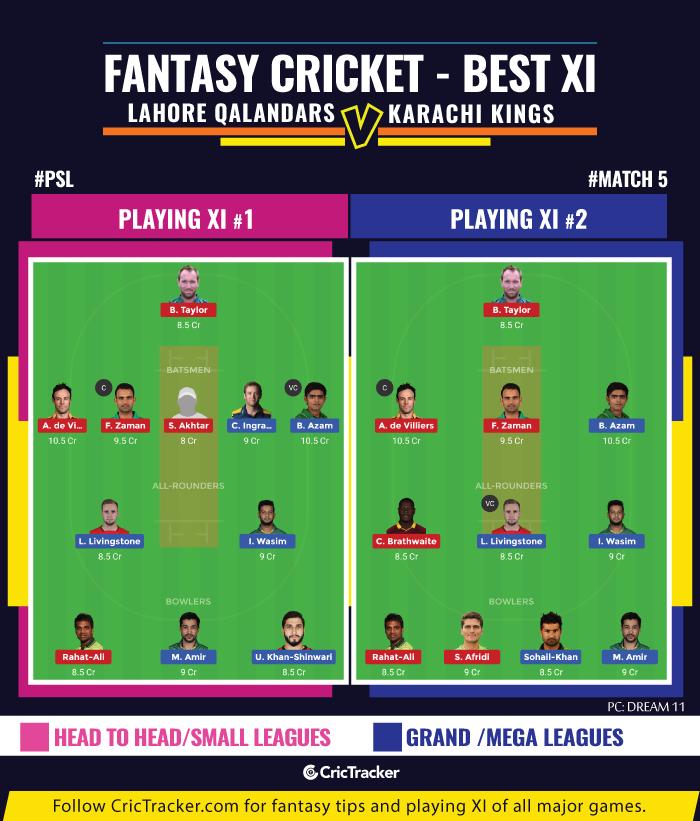 PSL-fantasy-Tips-Lahore-Qalandars-vs-Karachi-Kings