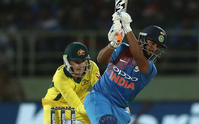 Rishabh Pant vs Australia