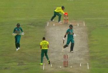 Shoaib Malik run-out