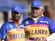 Arjuna Ranatunga and Muttiah Muralitharan