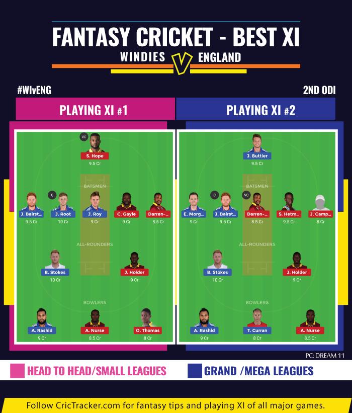 WIvENG--second-ODI--fantasy-Tips-Windies-vs-England-2nd-ODI