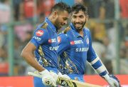 Hardik Pandya and Jasprit Bumrah