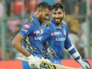 Hardik Pandya and Jasprit Bumrah