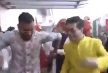 Hardik Pandya and Karan Johar