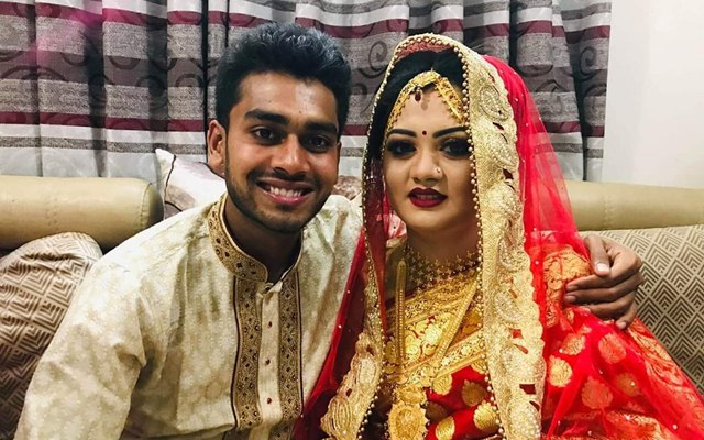 Mehidy Hasan Miraz and Rabeya Akhter Priti
