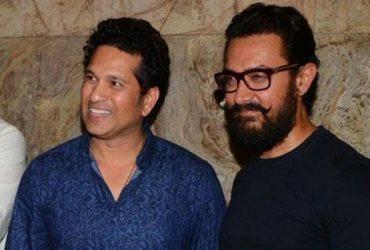 Sachin Tendulkar and Aamir Khan