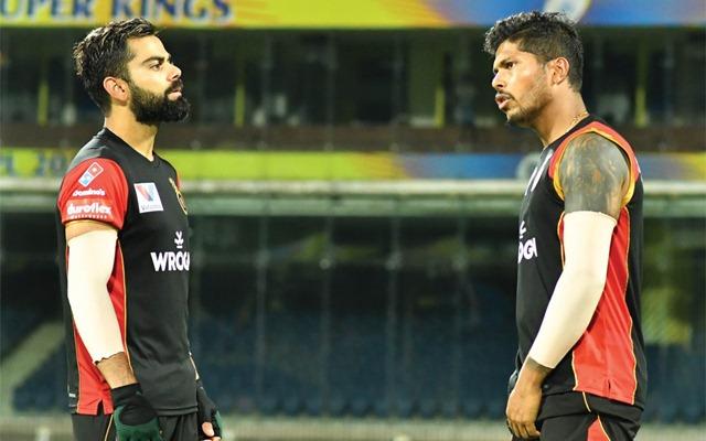 Virat Kohli and Umesh Yadav