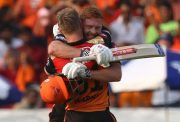 Jonny Bairstow and David Warner