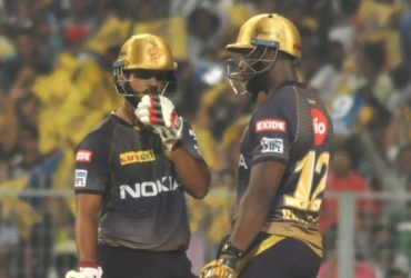Nitish Rana and Andre Russell