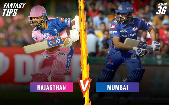 ipl-2019-RRvMI-fantsay-tips-Rajasthan-Royals-vs-Mumbai-Indians