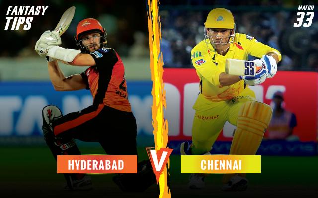 ipl-2019-SRHvCSK-fantsay-tips-Sunriser-Hyderabad-vs-Chennai-Super-Kings