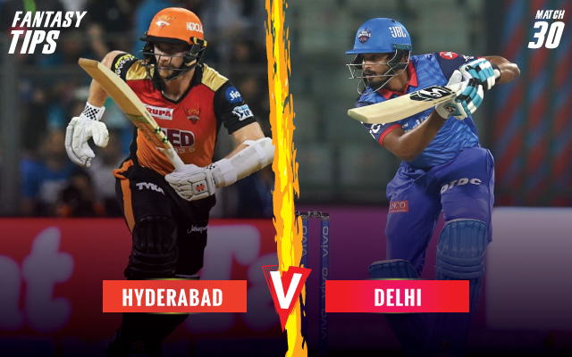 ipl-2019-SRHvDC-fantsay-tips-Sunriser-Hyderabad-vs-Delhi-Capitals