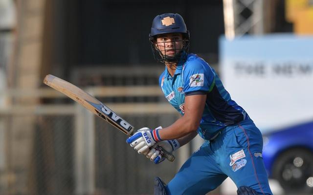 Arjun Tendulkar. T20 Mumbai