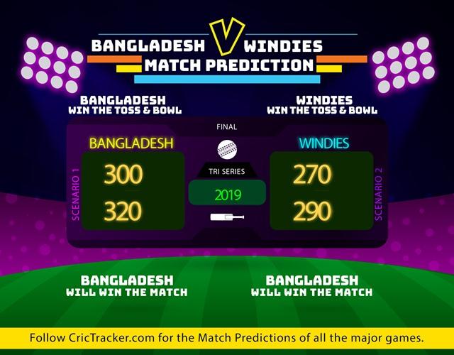 Bangladesh vs Windies prediction