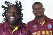 Chris Gayle and Evin Lewis