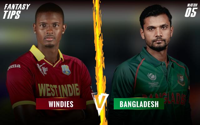 WIvBAN-5th-ODI-Fantasy-Tips-Windies-vs-Bangladesh