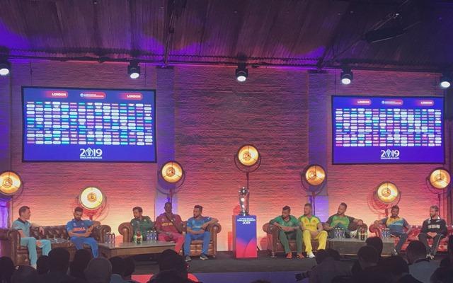 World Cup 2019 captains