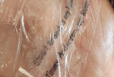 Ashes fan tattoo