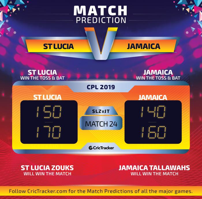 CPL-2019-SLZvJT-match-Prediction-St-Lucia-Zouks-VS-Jamaica-Tallawahs