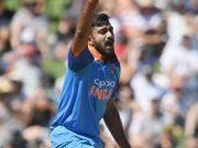 New Zealand v India - ODI Game 1