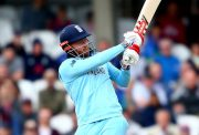 LONDON, ENGLAND - MAY 27: Jonny Bairstow of England bats during the ICC Cricket World Cup 2019 Warm Up match between England and Afghanistan at The Kia Oval on May 27, 2019 in London, England. (Photo by Jordan Mansfield/Getty Images)