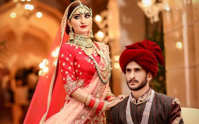 Hasan Ali and Shamia Arzoo